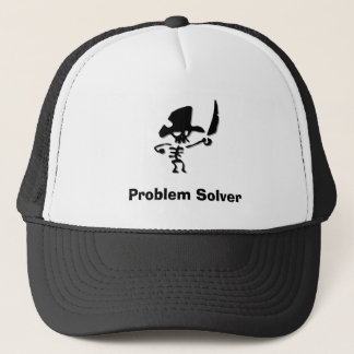 Pirate Problem Solver Trucker Hat