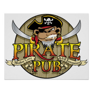 Pirate Pub Poster