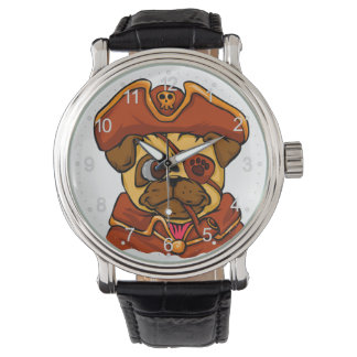 Pirate pug watch
