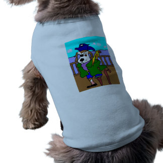 Pirate Pup Pete And Silly Sally Parrot Pet Shirt