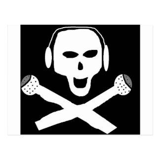 PIRATE RADIO POSTCARD