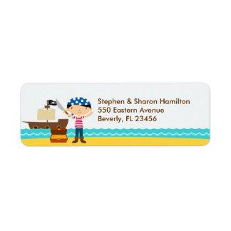 Pirate Return Address Labels