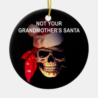 Pirate Santa Christmas Ornament