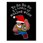 Pirate Santa Postcard