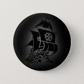 Pirate Ship 1 2 Inch Round Button