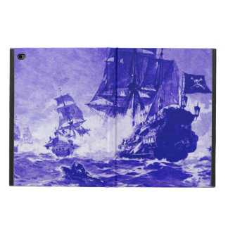 PIRATE SHIP BATTLE IN blue