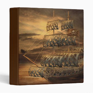Pirate Ship Binder