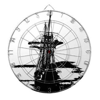 pirate ship dartboard