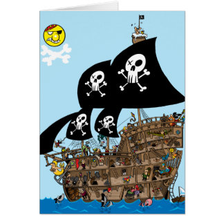 Pirate Ship Escape card