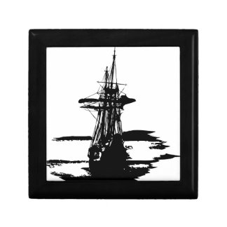 pirate ship gift box