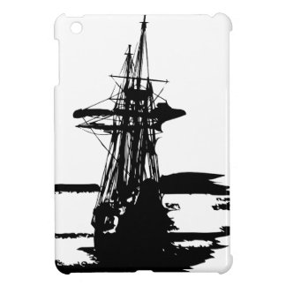pirate ship iPad mini cases