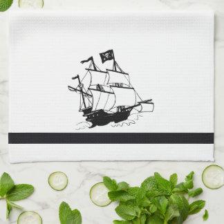 Pirate Ship Kitchen Towel