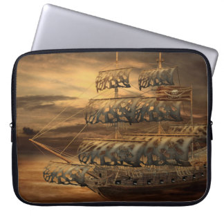 Pirate Ship Laptop Sleeve