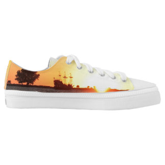 Pirate Ship Low-Top Sneakers