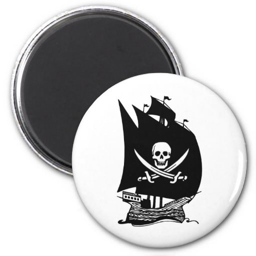 Pirate Ship Magnets