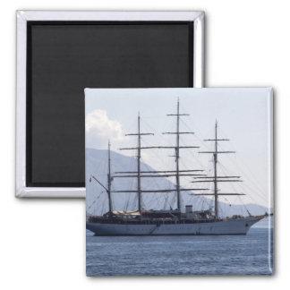 Pirate Ship Fridge Magnet