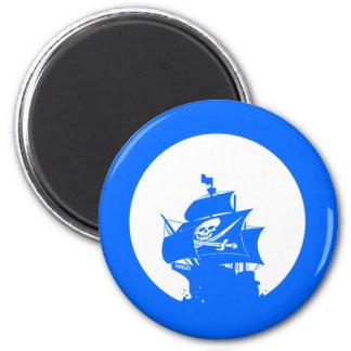 Pirate Ship Fridge Magnets