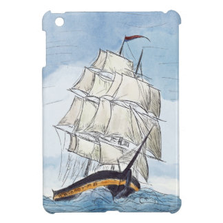 Pirate Ship Portrait Gift Case For The iPad Mini