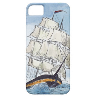 Pirate Ship Portrait Gift iPhone 5 Cover