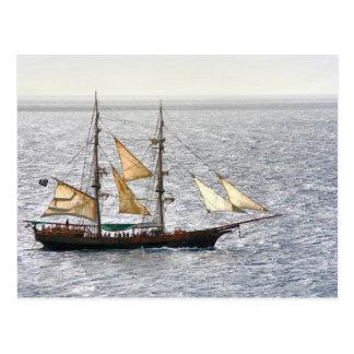 Pirate Ship Postcards