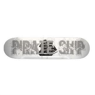 Pirate Ship. Sailing Ship. Custom Skate Board
