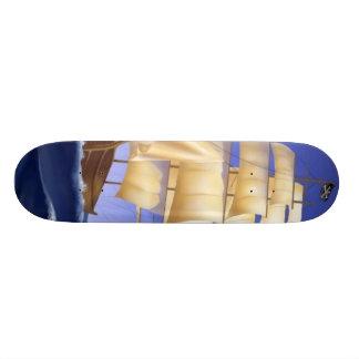 pirate ship skateboard decks