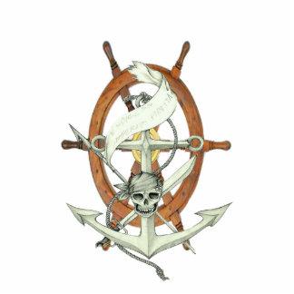 Pirate Sigil Porte-clé Photo Sculpture