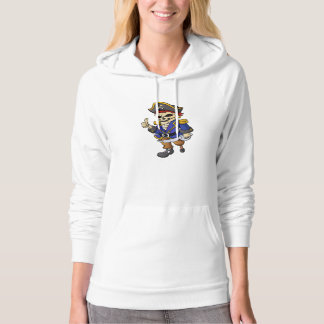 pirate skeleton cartoon hoodie