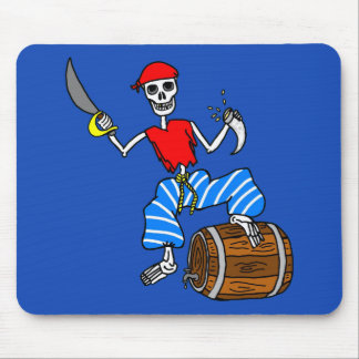 Pirate Skeleton Mouse Pad