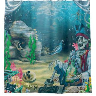 Pirate Skeleton Treasure Under the Sea