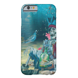 Pirate Skeleton Treasure Under the Sea Barely There iPhone 6 Case