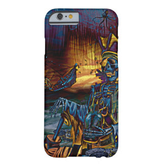 Pirate Skeleton Treasure Under the Sea Comic Art Barely There iPhone 6 Case