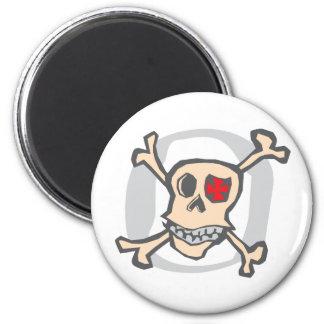 Pirate: Skull and Cross Bones Magnet