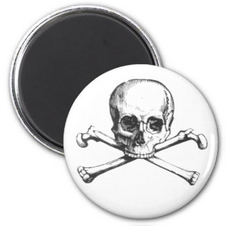 Pirate Skull and Crossbone Magnet