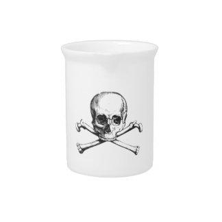 Pirate Skull and Crossbone Pitcher