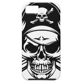 Pirate Skull and Crossbones Case For The iPhone 5