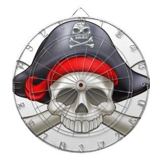 Pirate Skull and Crossbones Dartboard