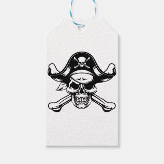 Pirate Skull and Crossbones Gift Tags