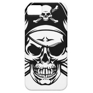 Pirate Skull and Crossbones iPhone 5 Covers