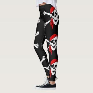 Pirate Skull and Crossbones Leggings