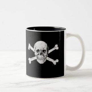 Pirate Skull and Crossbones Mug