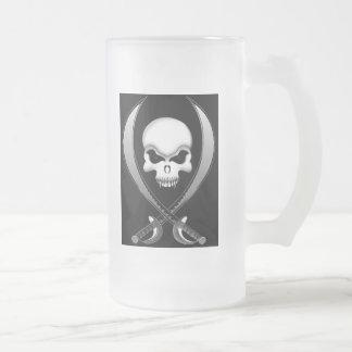 Pirate Skull beer mug
