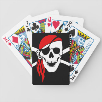 Pirate Skull Bicycle® Poker Playing Cards