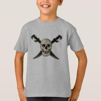 Pirate (Skull) - Kids' Basic Hanes Tagless Comfort T-Shirt
