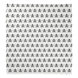 Pirate skull pattern bandana