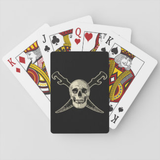 Pirate (Skull) - Playing Cards, Standard Index fac Playing Cards