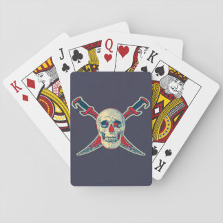 Pirate (Skull) - Playing Cards, Standard Index fac Poker Deck