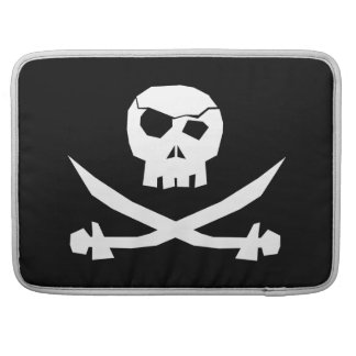 Pirate Skull Sleeve For MacBook Pro