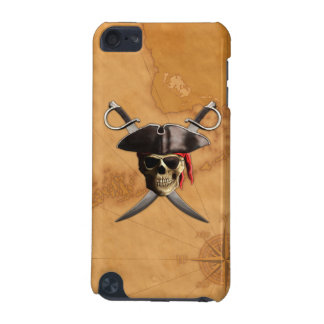 Pirate Skull Swords And Map iPod Touch (5th Generation) Covers