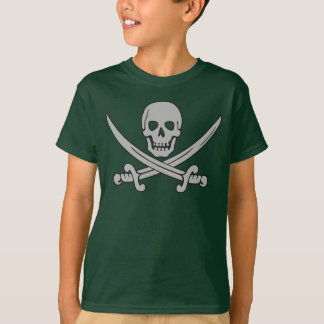 Pirate Skull & Swords Kid's  T-Shirt